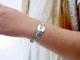 Bracelet Liberty médaille cible étoile