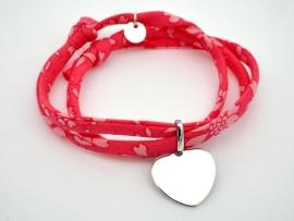 Bracelet cœur en argent sur Liberty