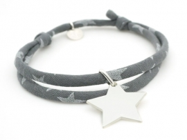 Bracelet Liberty étoile en argent