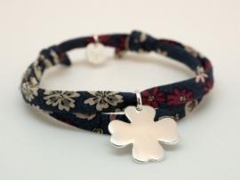Bracelet Liberty Femme Trefle en argent