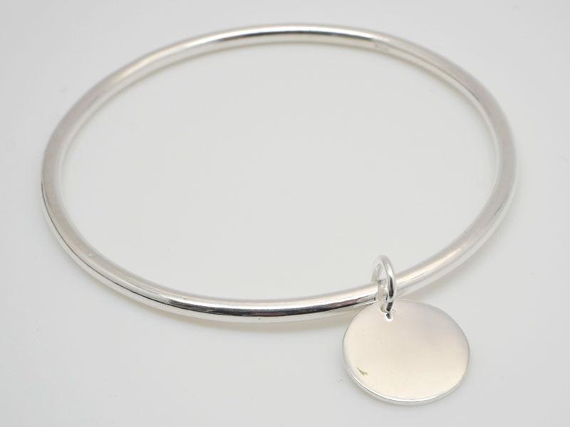 bracelet femme argent massif jonc