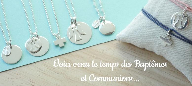 Idées cadeaux Baptêmes et Communions